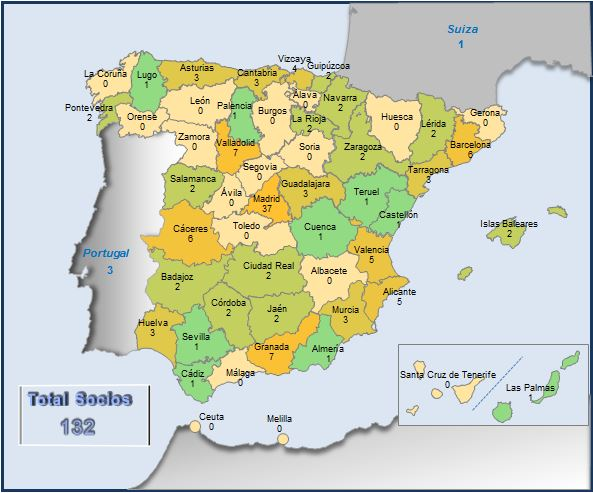 Mapa Socios GWAE